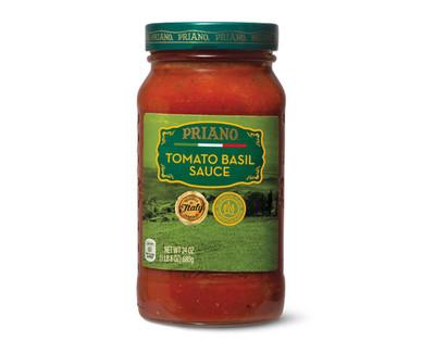 Priano Gourmet Pasta Sauce Tomato Basil