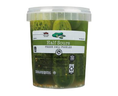 Park Street Deli Half Sour Whole Pickles