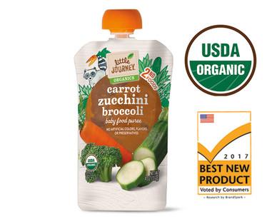 Little Journey Organic Carrot Zucchini Broccoli Puree