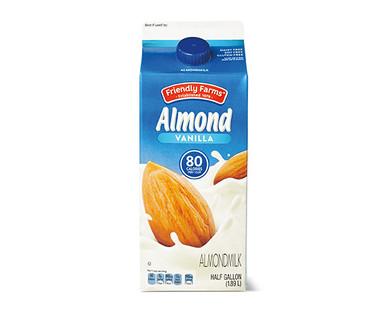 Friendly Farms Sweetened Vanilla Almondmilk
