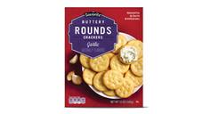 Savoritz Garlic Round Crackers