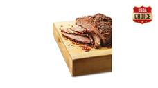 Fresh USDA Choice Seasoned Beef Brisket
