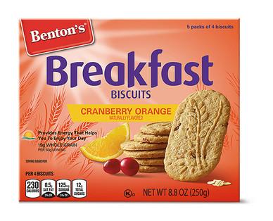 Benton's Cranberry Orange Breakfast Biscuits
