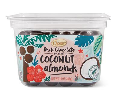Choceur Dark Chocolate Coconut Almonds