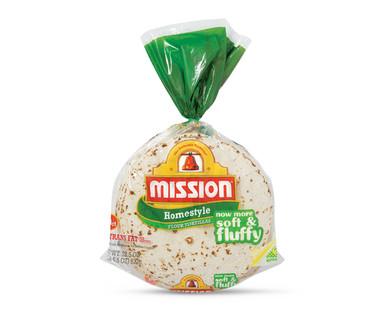 "Mission 8"" Homestyle Flour Tortillas"