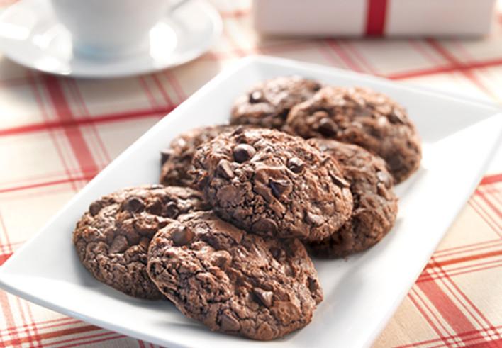 Coffee Chocolate Chip Brownie Cookie