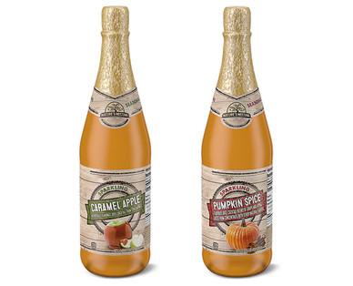Nature's Nectar Sparkling Ciders Spiced Pumpkin or Caramel Apple