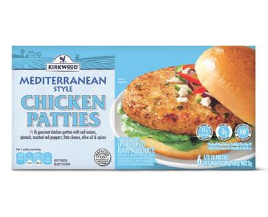 Kirkwood Mediterranean Chicken Patties