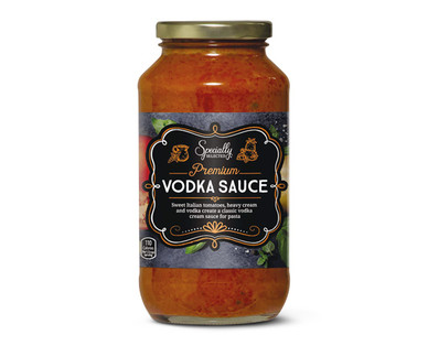Specially Selected Premium Vodka Sauce