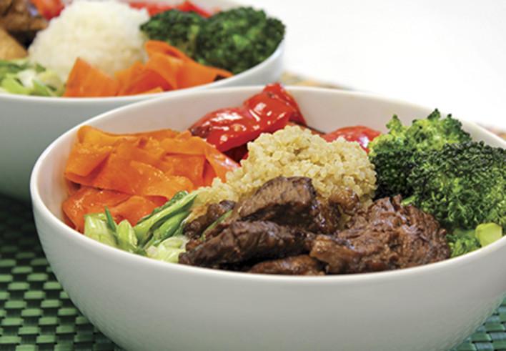 Thai Chicken or Beef Bowl