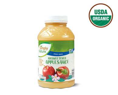 Simply Nature Unsweetened Applesauce