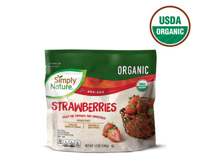 Simply Nature Frozen Organic Strawberries