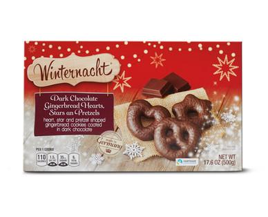 Winternacht Dark Chocolate Gingerbread Assortment