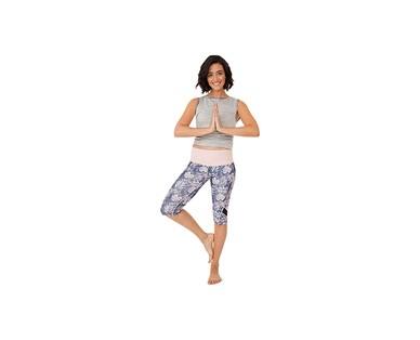 Crane Ladies Three Quarter Legging or Capri Yoga Pant View 3