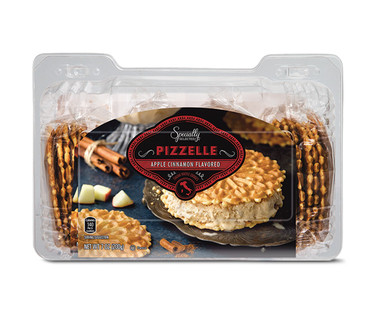 Specially Selected Pizzelle Cookies Apple Cinnamon or Pumpkin Spice View 1