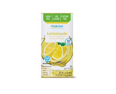 Fit & Active® Lemonade Drink Mix Sticks