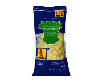Happy Farms Shredded Mozzarella Cheese