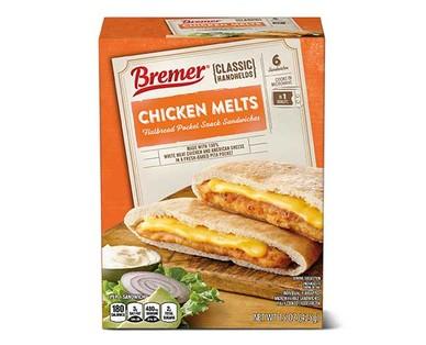 Bremer Angus Chicken Pita Melts