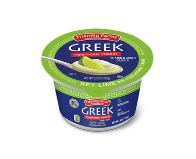 Friendly Farms Whole Milk Key Lime Greek Yogurt