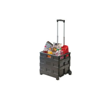Easy Home Folding Utility Cart View 2