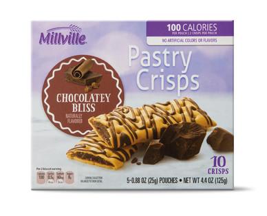 Millville Pastry Crisps - Chocolate