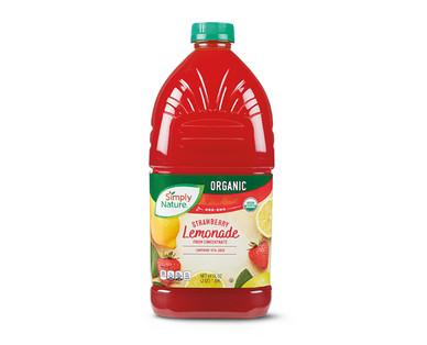 Simply Nature Organic Strawberry Lemonade