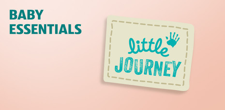 Baby essentials. Click to learn more about Little Journey.