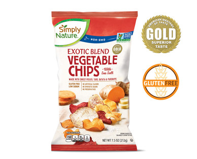 Simply Nature Exotic Vegetable Chips