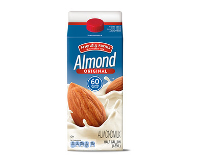 Friendly Farms Almond Milk, Original