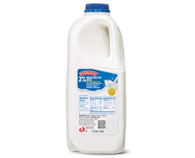 Friendly Farms 2% Milk 1/2 Gallon