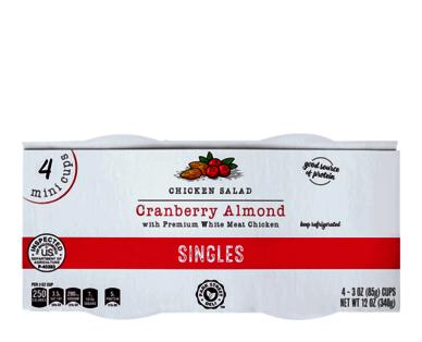 Park Street Deli Cranberry Almond Chicken Salad Singles