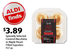 ALDI Find: Specially Selected Caramel Macchiato or Maple Pecan Filled Cupcakes. $3.89. View Details.