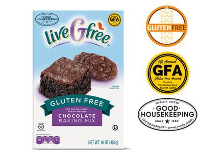liveGfree Gluten Free Chocolate Baking Mix