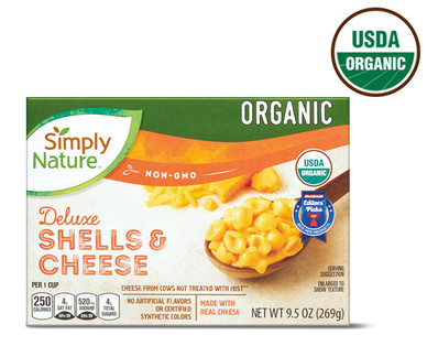 Simply Nature Organic Deluxe Shells & Cheese