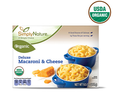 Simply Nature Organic Deluxe Macaroni and Cheese