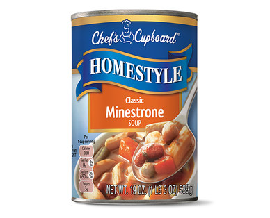 Chef's Cupboard Homestyle Soup - Classic Minestrone Soup