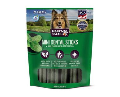 Heart to Tail Mini Dental Sticks