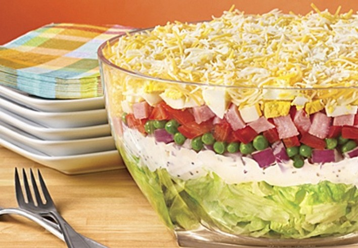 Leftover Layer Salad