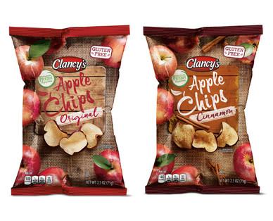 Clancy's Original or Cinnamon Apple Chips