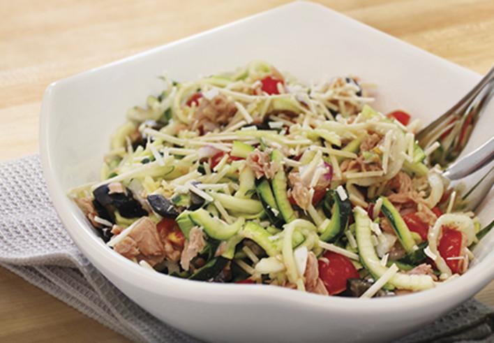 Tuna Zoodle Salad