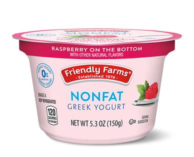 Friendly Farms Raspberry Nonfat Greek Yogurt