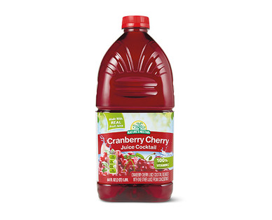 Nature's Nectar Cranberry Cherry Juice Cocktail