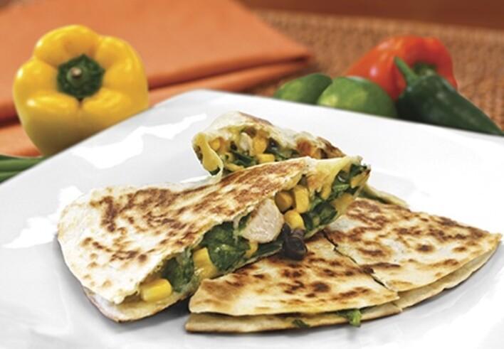 Southwestern Chicken Quesadilla