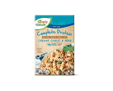 Simply Nature Protein Meal Kit Parmesan or Garlic Herb View 2