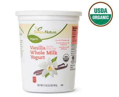 Organic Whole Milk Vanilla Yogurt