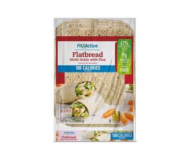 Fit and Active Multigrain with Flax Flatbread