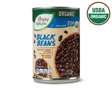 Simply Nature Organic Black Beans