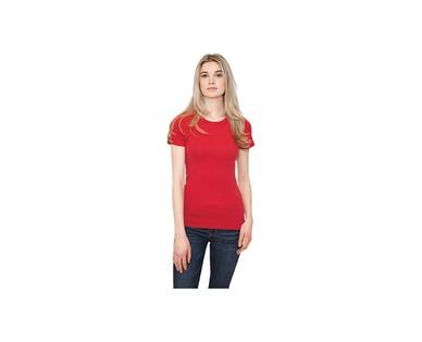 Serra Ladies 2-Pack Crew T-Shirt View 3