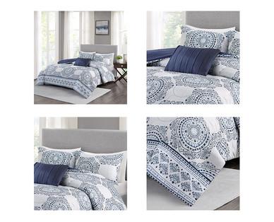 Huntington Home 4 Piece Reversible Bedding Set Aldi Us