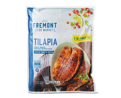 Fremont Fish Market Value Pack Tilapia Fillets